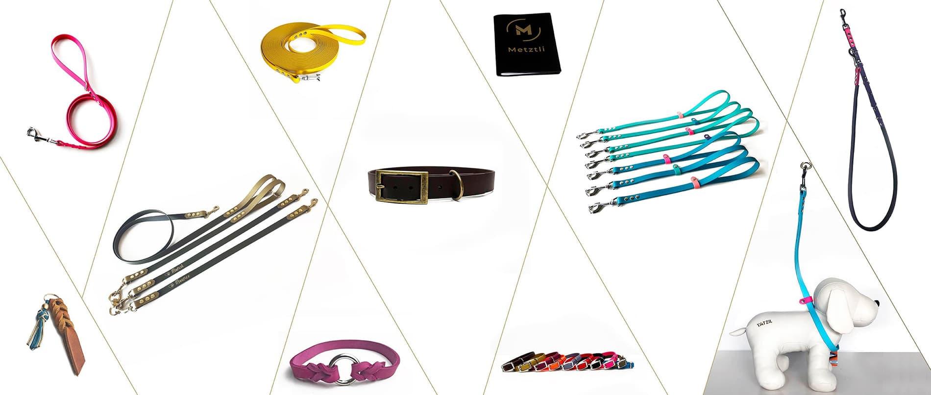 Yatzil - de juwelier voor je huisdier - Biothane halsbanden, lijnen, trimlussen