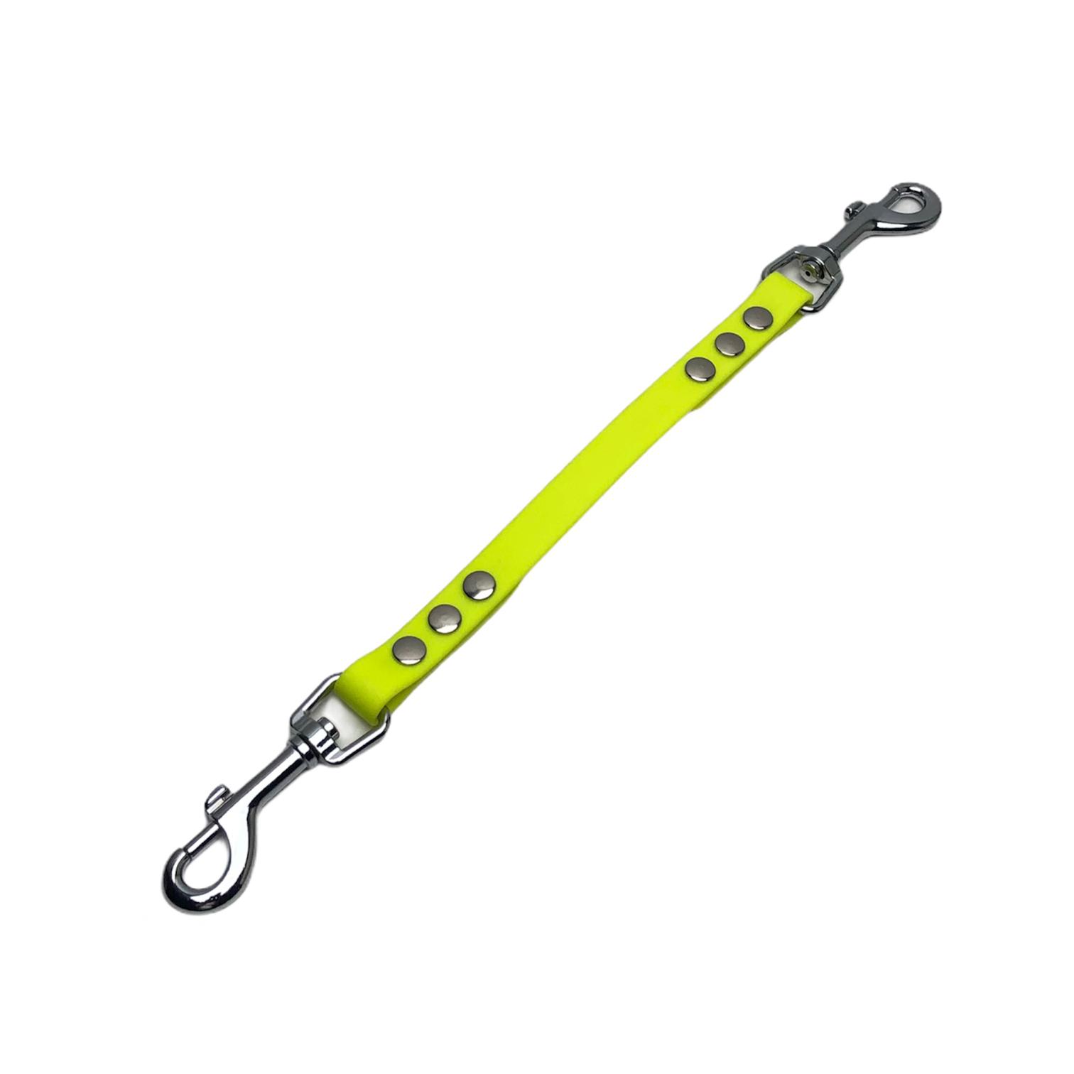 verlengstuk 2 musktons 16 mm neon geel